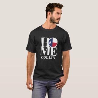 La pièce en t noire des hommes À LA MAISON de T-shirt