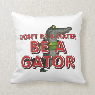 La PIÈCE EN T soit alligator Coussin Décoratif
