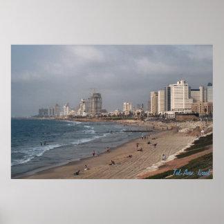 La plage à Tel Aviv