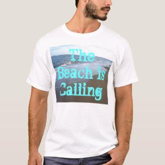 La plage appelle la chemise CricketDiane de surf T-shirt