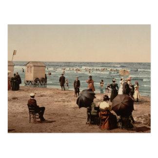 La plage, Blankenberghe, Belgique Cartes Postales
