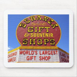 La plus grande boutique de cadeaux du monde tapis de souris