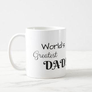La plus grande tasse de café du papa du monde !