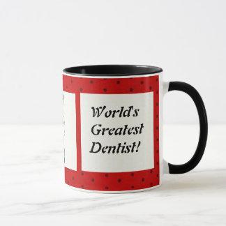 La plus grande tasse du dentiste du monde