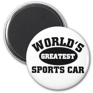 La plus grande voiture de sport aimant