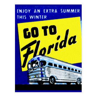 La pochette d'allumettes vintage de car d'autobus  cartes postales