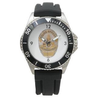 La police de Los Angeles protège la montre