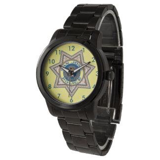 La police de San Jose Badge la montre