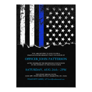 La police dénomme l'invitation du drapeau