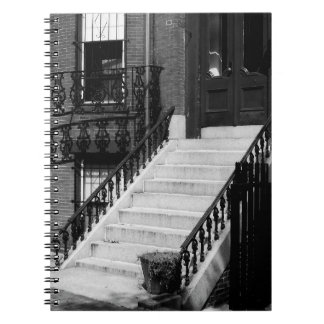 La porte sale fait un pas carnet de photographie