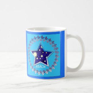 """La"""" portée de motivation pour les étoiles"""" mug"""
