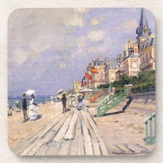 La promenade chez Trouville Claude Monet Dessous-de-verre