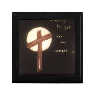 La puissance de la croix boîte à souvenirs