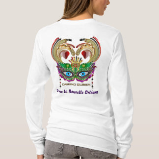 La Reine de casino de mardi gras eue connaissance T-shirt