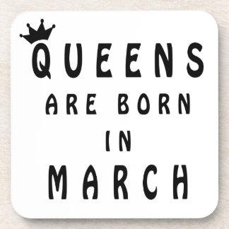 La Reine sont née en mars Sous-bock