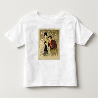 La reproduction d'une publicité par affichage t shirts