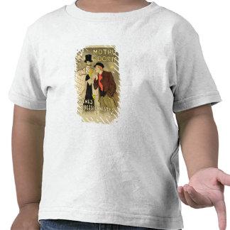 La reproduction d'une publicité par affichage t-shirt