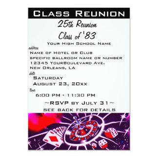 La Réunion de classe Carton D'invitation 12,7 Cm X 17,78 Cm