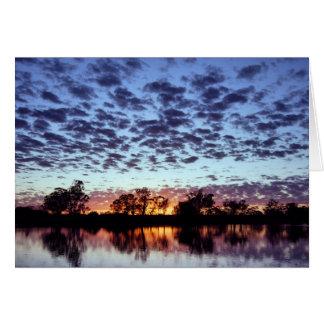 La rivière Murray Carte De Vœux