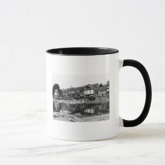 La rivière Nahe, Bad Kreuznach, c.1910 Mug