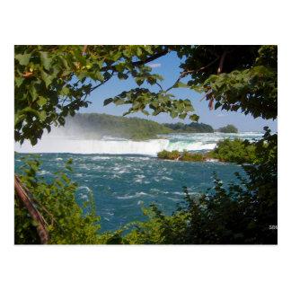 La rivière Niagara avant la carte postale