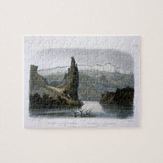 La roche de citadelle sur le Missouri supérieur, p Puzzle
