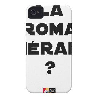 La Roma Thérapie - Jeux de Mots - Francois Ville Coque iPhone 4