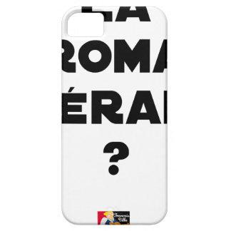 La Roma Thérapie - Jeux de Mots - Francois Ville Coques iPhone 5