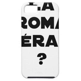 La Roma Thérapie - Jeux de Mots - Francois Ville Coques iPhone 5 Case-Mate