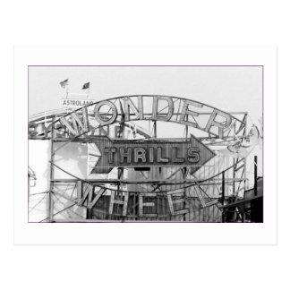 La roue de merveille captive (Coney Island, NY) la Carte Postale