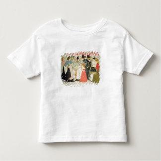 """""""La rue"""", affiche pour l'imprimante Charles Verne T Shirts"""