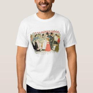 """""""La rue"""", affiche pour l'imprimante Charles Verne Tee-shirts"""