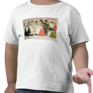 """""""La rue"""", affiche pour l'imprimante Charles Verne T-shirt"""