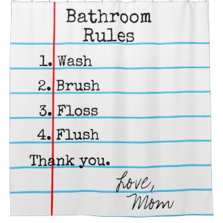 La salle de bains ordonne le rideau en douche de