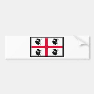 La Sardaigne-Italie Adhésif Pour Voiture