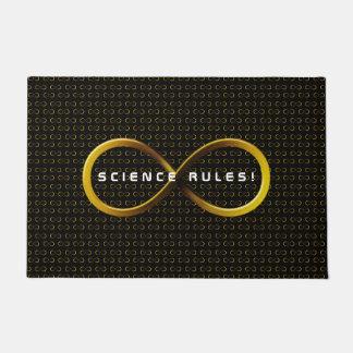 La Science ordonne des cadeaux de geek d'infini de Paillasson