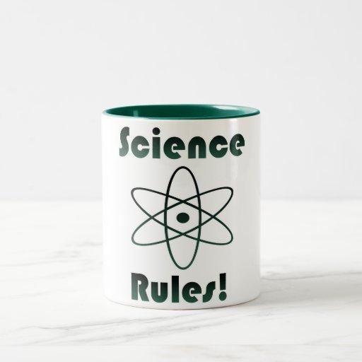 La Science ordonne le geek Mug Bicolore