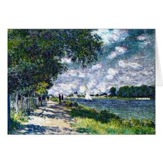 La Seine à Argenteuil Carte De Vœux