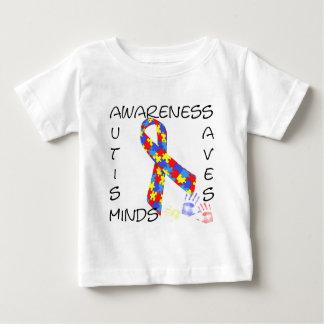 La sensibilisation sur l'autisme sauve des esprits t-shirt pour bébé