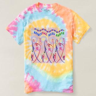 La spirale des femmes teignent en nouant la DANSE T-shirt