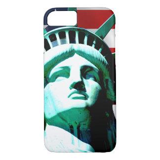 La statue de la liberté, New York, NY Coque iPhone 7