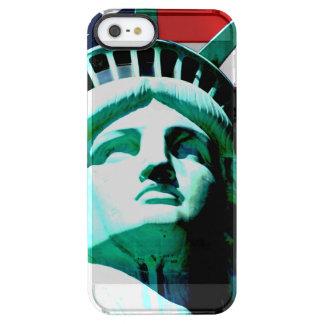 La statue de la liberté, New York, NY Coque iPhone Clear SE/5/5s
