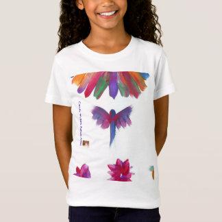 La sucrerie arrose le T-shirt d'artiste d'autisme