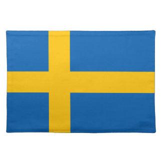 La Suède - drapeau suédois Sets De Table
