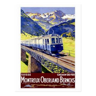 La Suisse vintage - Carte Postale
