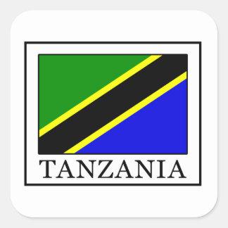 La Tanzanie Sticker Carré