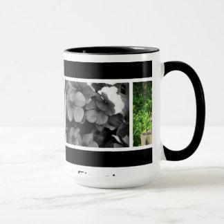 La tasse de café inclut des photos de natures dans