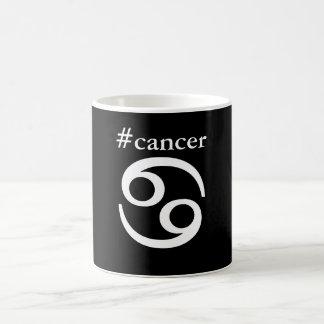 La tasse de Cancer de zodiaque de Hashtag