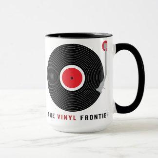 La tasse de frontière de vinyle