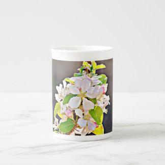 """La tasse de porcelaine tendre/tasse """"pommier"""